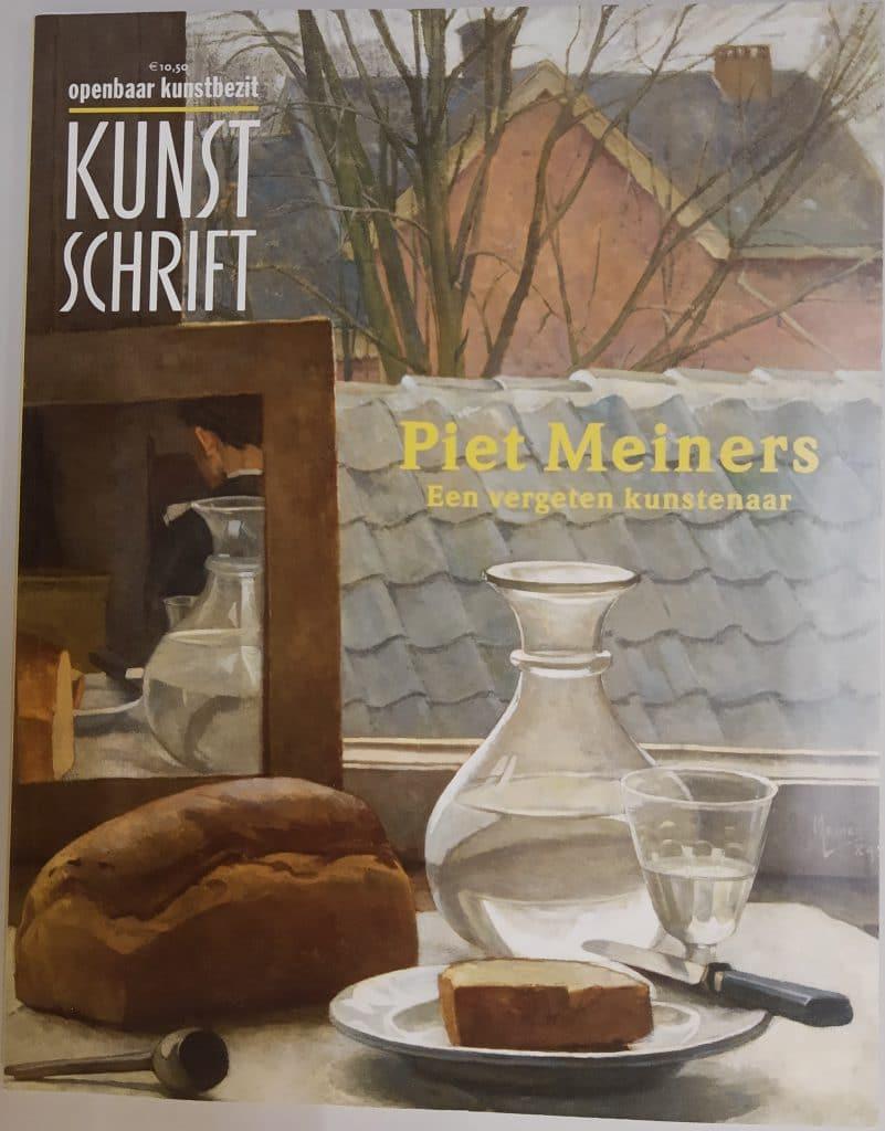 Omslag van Kunstschrift, jaargang 57, nr. 1.  Afgebeeld: Piet Meiners, Stilleven met sojakruikje met immortellen, 1884